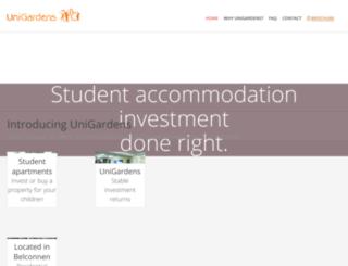 unigardens-sales.com.au screenshot