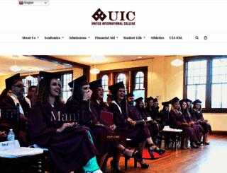 unilatina.edu screenshot