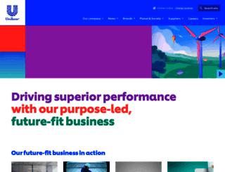 unilever.com.bd screenshot