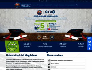 unimagdalena.edu.co screenshot