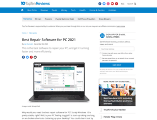 uninstaller-software-review.toptenreviews.com screenshot