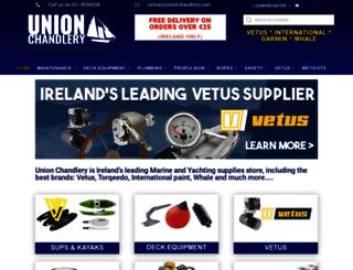unionchandlery.ie screenshot