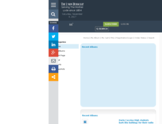 uniondemocrat.mycapture.com screenshot