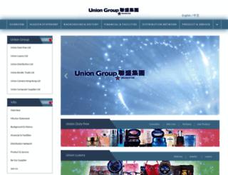 uniongrouphk.com screenshot