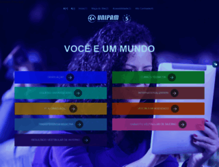 unipam.edu.br screenshot