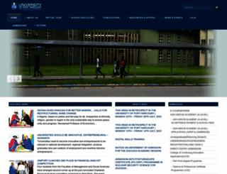 uniport.edu.ng screenshot