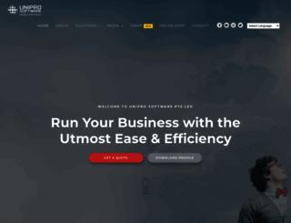 unipro.com.sg screenshot