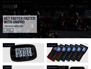 uniprolaptimer.com screenshot