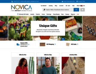 unique-gifts.novica.com screenshot