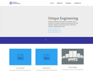 uniquengg.com screenshot