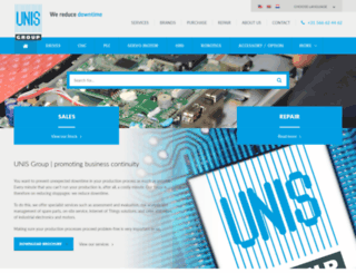 unisgroup.com screenshot