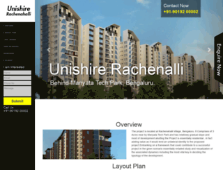 unishire-rachenahalli.call-now.co.in screenshot