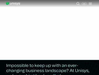 unisys.com screenshot