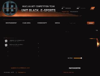 unitblack.com screenshot