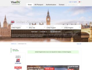united-kingdom.visahq.co.uk screenshot