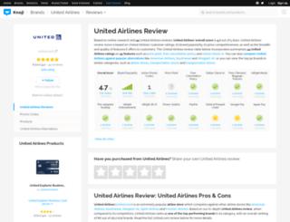 unitedairlines.knoji.com screenshot