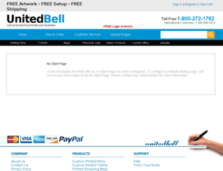 unitedbell.com screenshot