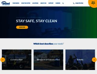 unitedsiteservices.com screenshot