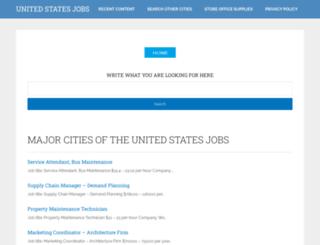 unitedstatesjobs.net screenshot