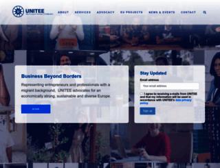 unitee.eu screenshot