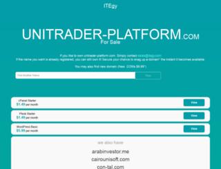 unitrader-platform.com screenshot