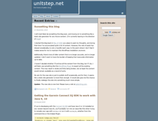 unitstep.net screenshot