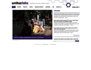 unituslabs.org screenshot