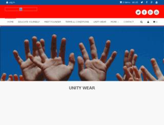 unityapparel.com screenshot