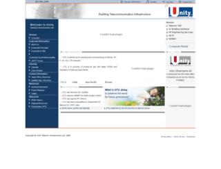 unityinfratel.com screenshot