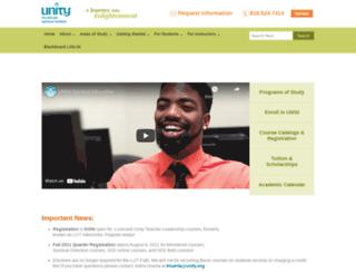 unityinstitute.org screenshot