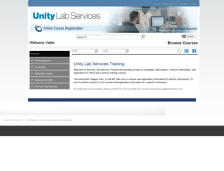 unitylabservices.gosignmeup.com screenshot
