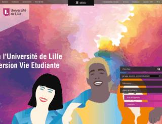 univ-lille3.fr screenshot