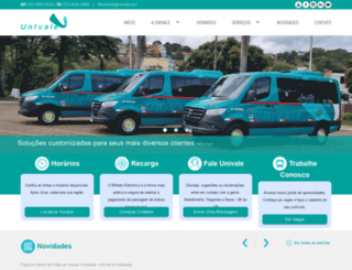 univale.com screenshot