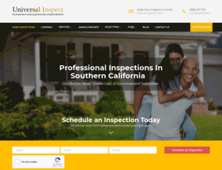 universalinspect.com screenshot