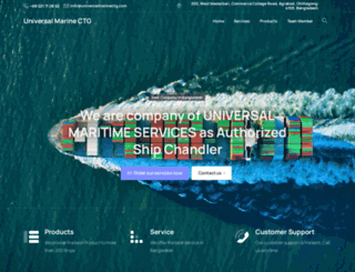 universalmarinectg.com screenshot