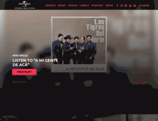 universalmusica.com screenshot