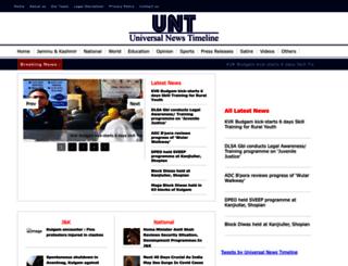 universalnewstimeline.com screenshot