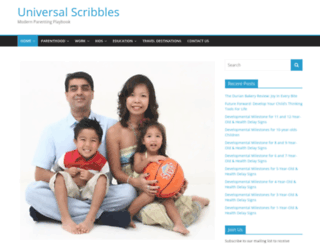 universalscribbles.com screenshot