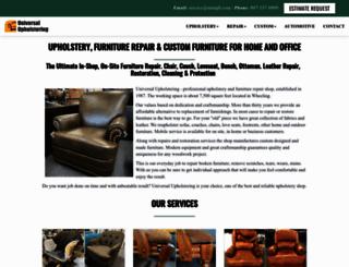 universalupholstering.com screenshot