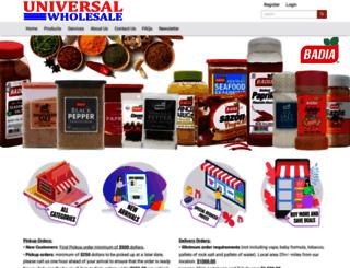 universalws.com screenshot