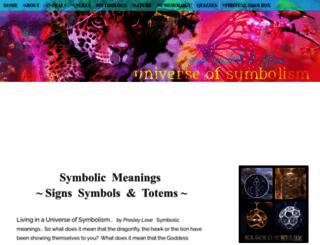 universeofsymbolism.com screenshot