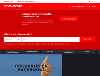 universia.edu.ve screenshot