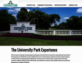 universitypark-fl.com screenshot
