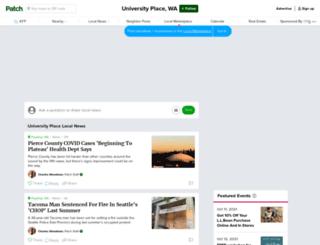 universityplace.patch.com screenshot