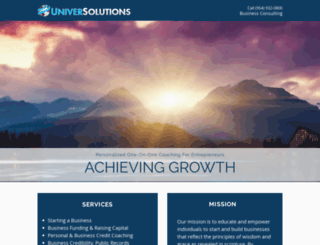 universolutionsinc.com screenshot