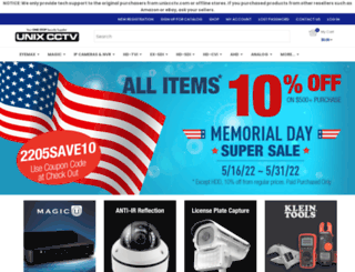 unixcctv.com screenshot