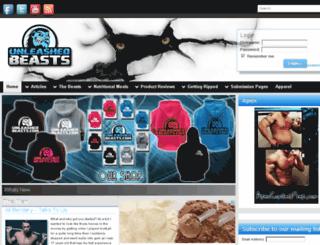 unleashedbeasts.com screenshot