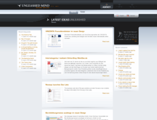 unleashedmind.com screenshot