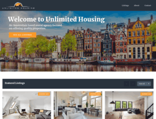 unlimitedhousing.nl screenshot