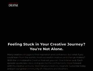 unmistakablecreative.com screenshot